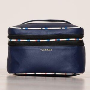 Yum I Kim Navy Blue Jetsetter Makeup Cosmetic Bag